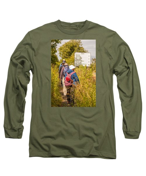 Hiking In The Highlands Long Sleeve T-Shirt