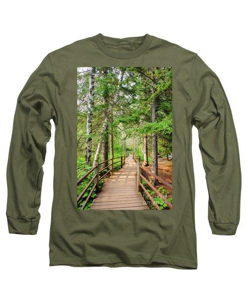 Hiking Trail Long Sleeve T-Shirt