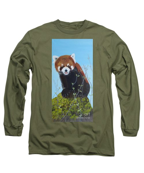 Himalayan Red Panda Long Sleeve T-Shirt