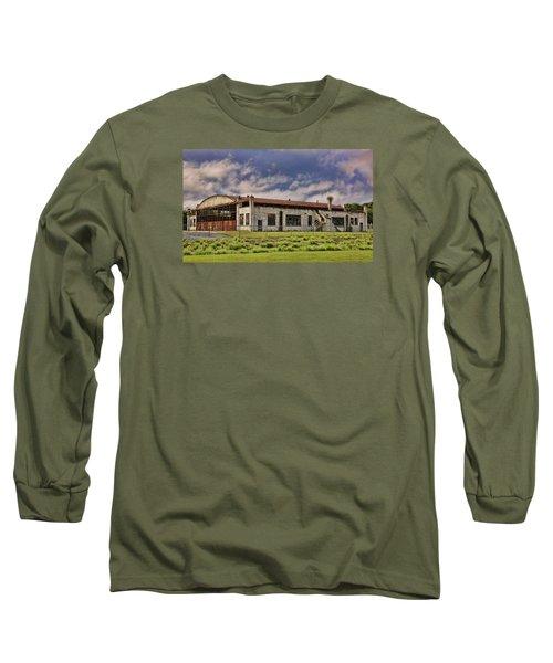 Historic Curtiss Wright Hanger Long Sleeve T-Shirt