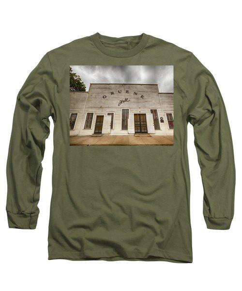 Historic Gruene Hall Long Sleeve T-Shirt