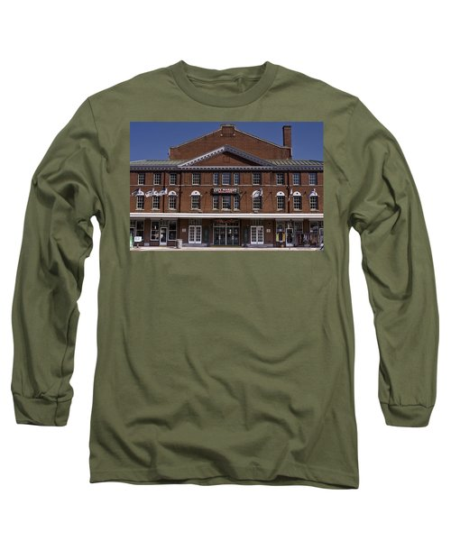 Historic Roanoke City Market Building Long Sleeve T-Shirt