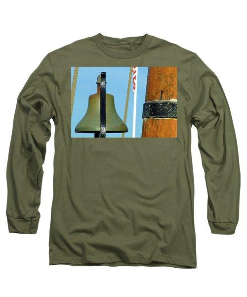 Hms Bounty Ships Bell Long Sleeve T-Shirt