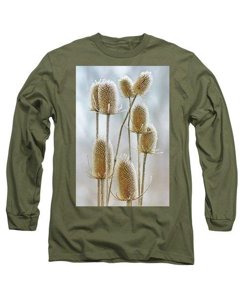 Hoar Frost - Wild Teasel Long Sleeve T-Shirt