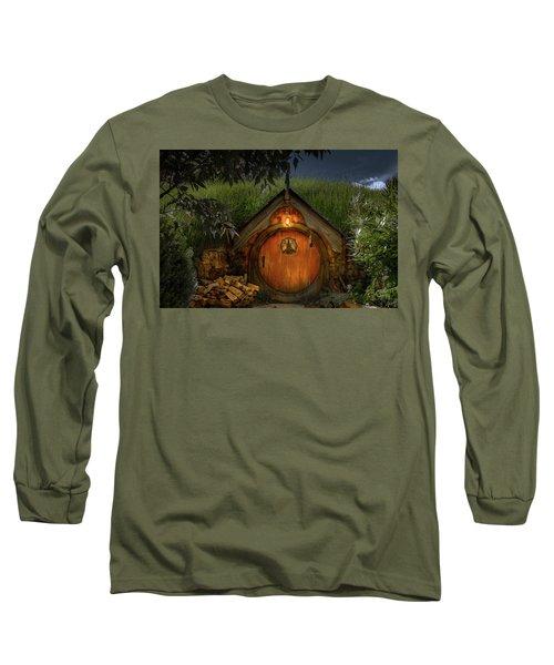 Hobbit Dwelling Long Sleeve T-Shirt