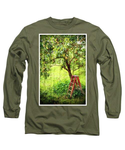 Hobbit Pear Tree Long Sleeve T-Shirt