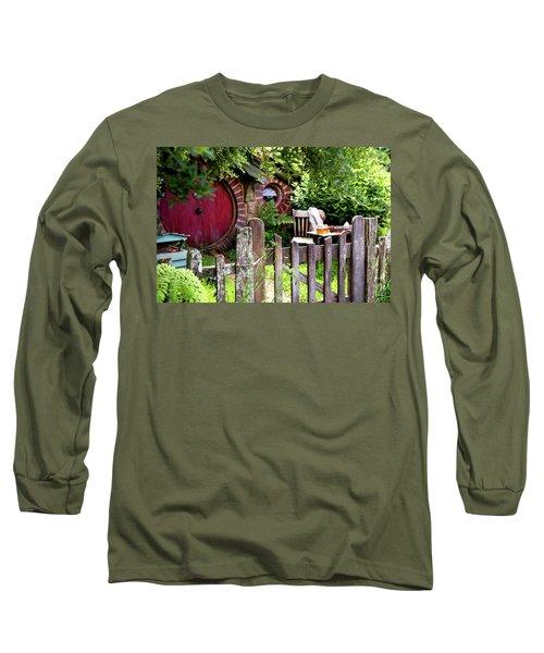 Hobbit Tea And Honey Long Sleeve T-Shirt