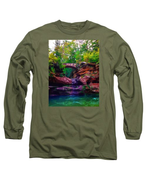 Long Sleeve T-Shirt featuring the photograph Hocking Hills State Park 6 by Brian Stevens