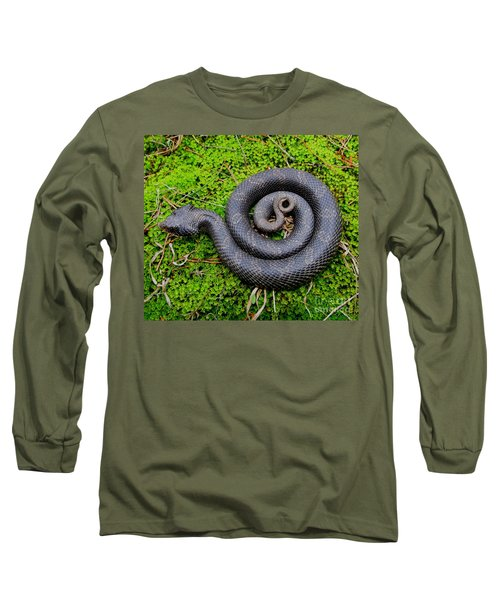 Hognose Spiral Long Sleeve T-Shirt