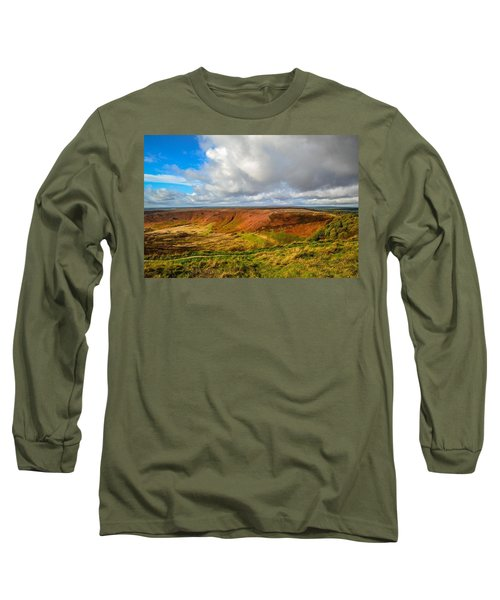 Hole Of Horcum, North York Mores, Yorkshire, United Kingdom Long Sleeve T-Shirt
