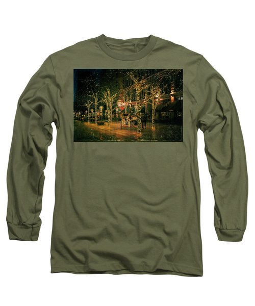 Holiday Handsome Cab Long Sleeve T-Shirt by Kristal Kraft