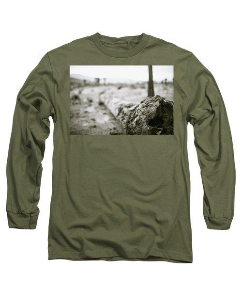 Hollow Long Sleeve T-Shirt