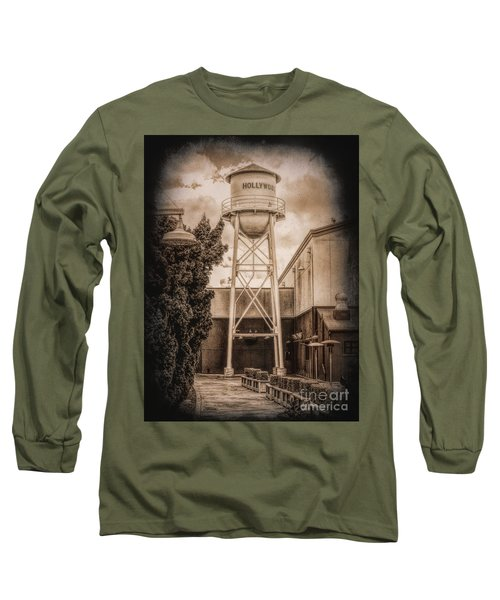 Hollywood Water Tower 2 Long Sleeve T-Shirt