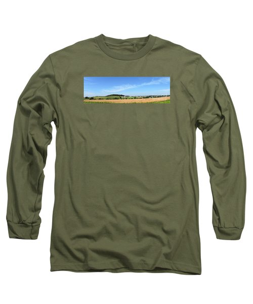 Long Sleeve T-Shirt featuring the photograph Holmes County Ohio by Gena Weiser