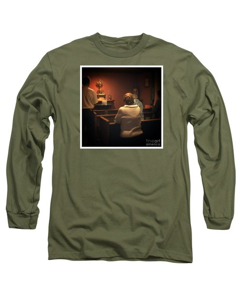 Holy Adoration Altar Long Sleeve T-Shirt