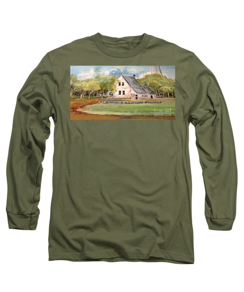 Home Again Long Sleeve T-Shirt by Linda Shackelford