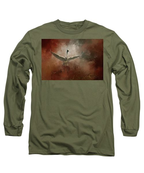 Long Sleeve T-Shirt featuring the photograph Home Coming by Marvin Spates