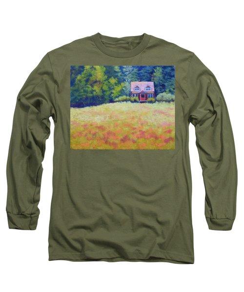 Homestead Long Sleeve T-Shirt by Nancy Jolley