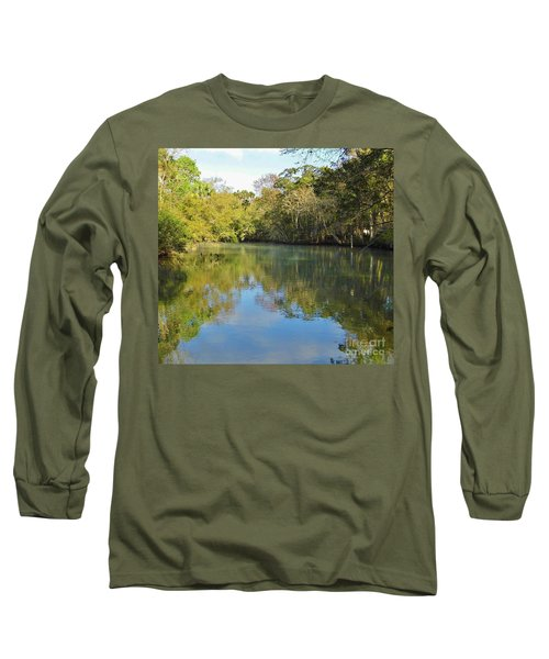 Homosassa River Long Sleeve T-Shirt