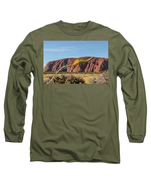 Long Sleeve T-Shirt featuring the photograph Honey Grevillea 01 by Werner Padarin
