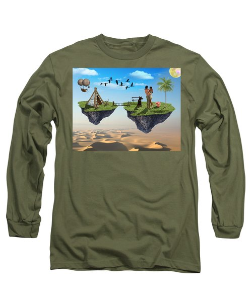 Honeymoon Getaway Long Sleeve T-Shirt