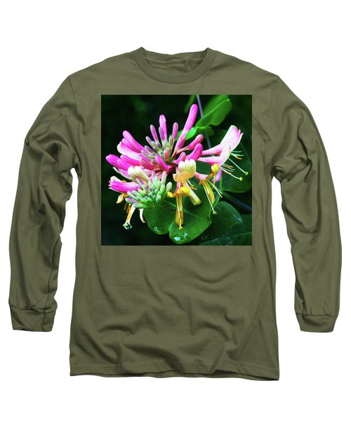 Honeysuckle Bloom Long Sleeve T-Shirt