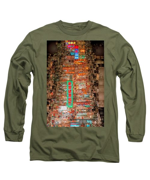 Hong Kong -yaumatei Long Sleeve T-Shirt