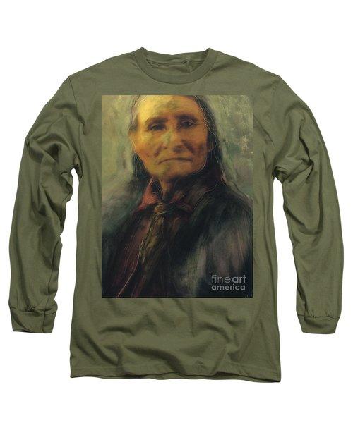 Honoring Geronimo Long Sleeve T-Shirt