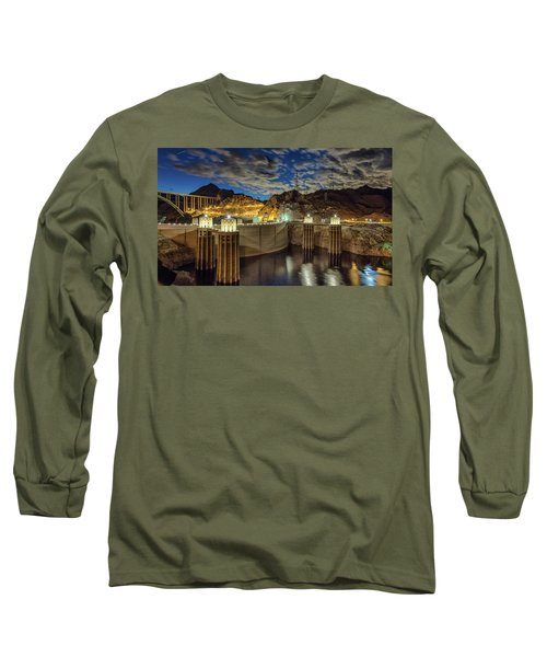 Long Sleeve T-Shirt featuring the photograph Hoover Dam by Michael Rogers
