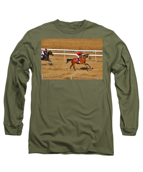 Horse Racing Long Sleeve T-Shirt