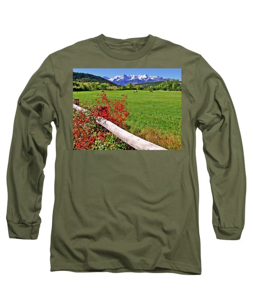 Horses In The San Juans Long Sleeve T-Shirt