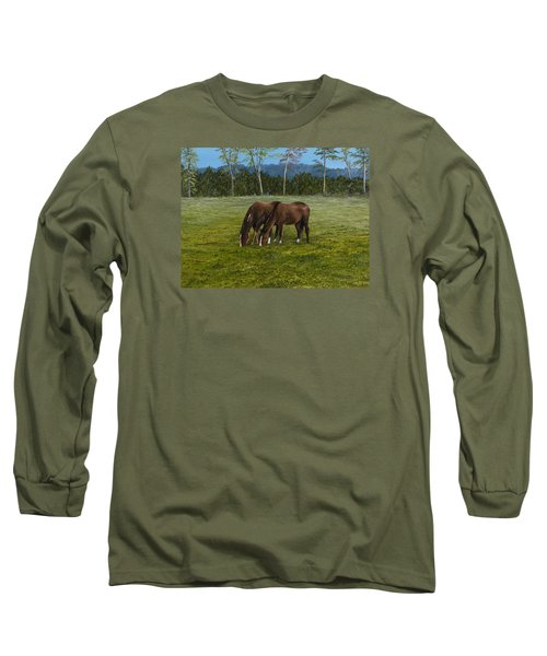 Horses Of Romance Long Sleeve T-Shirt