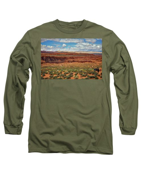 Horseshoe Bend  - Arizona Long Sleeve T-Shirt by Jennifer Rondinelli Reilly - Fine Art Photography