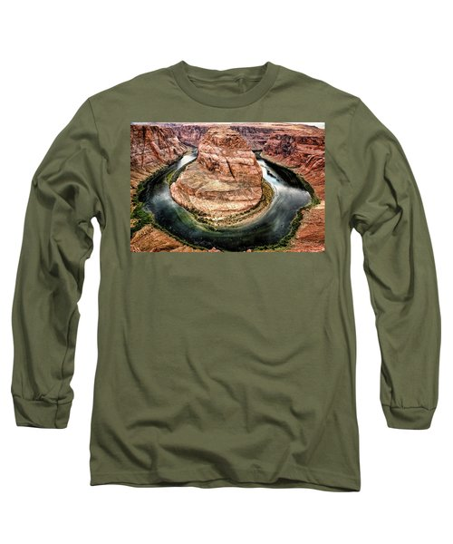 Horseshoe Bend Colorado River Long Sleeve T-Shirt
