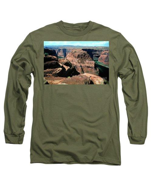 Horseshoe Bend Of The Colorado River Long Sleeve T-Shirt