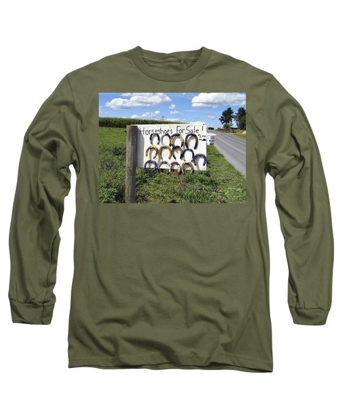 Horseshoes For Sale Long Sleeve T-Shirt