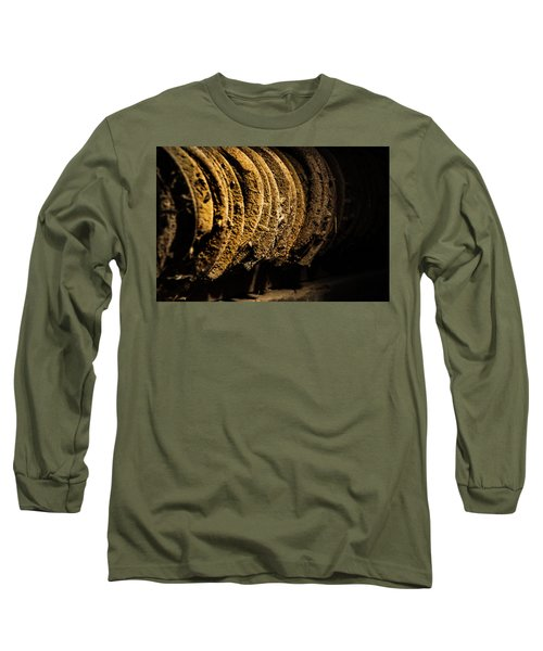 Long Sleeve T-Shirt featuring the photograph Horseshoes by Jay Stockhaus