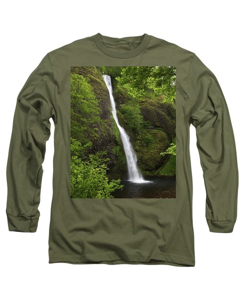 Horsetail Falls Long Sleeve T-Shirt