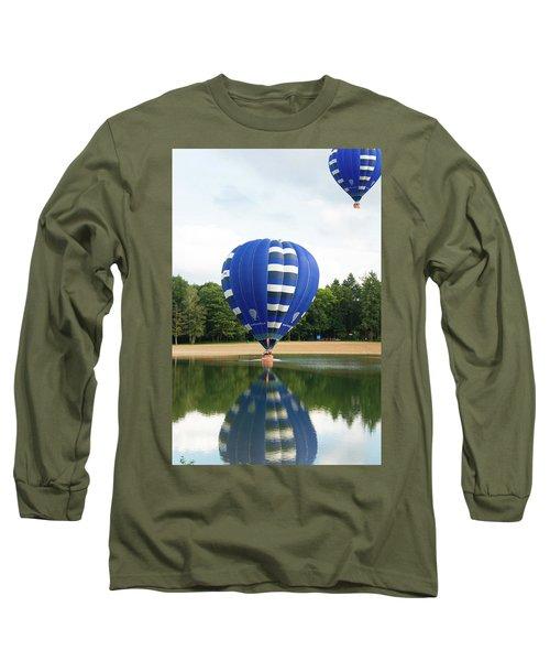 Hot Air Balloon Long Sleeve T-Shirt by Hans Engbers
