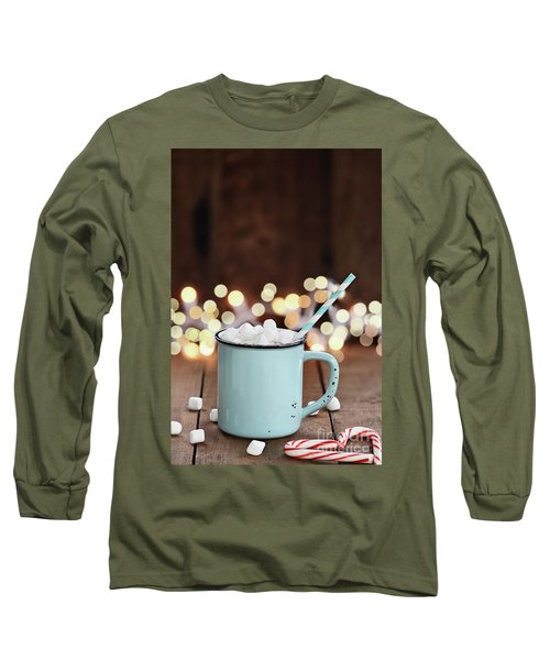 Hot Cocoa With Mini Marshmallows Long Sleeve T-Shirt