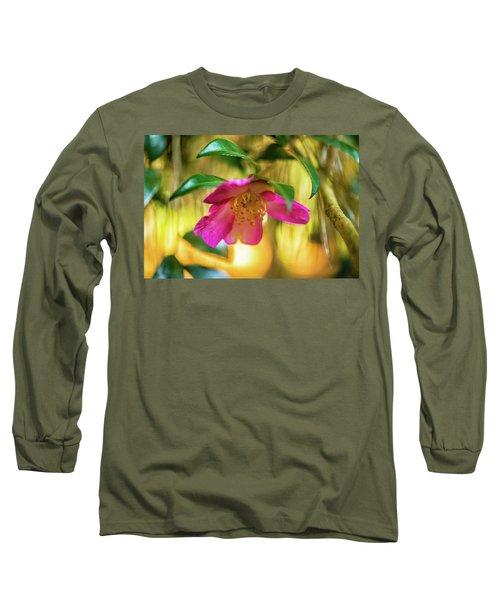 Hot Pink  Long Sleeve T-Shirt
