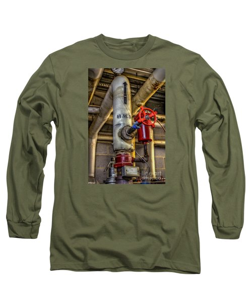 Hot Water Supply Long Sleeve T-Shirt