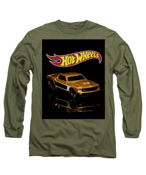 Long Sleeve T-Shirt featuring the photograph Hot Wheels '69 Ford Mustang 2 by James Sage