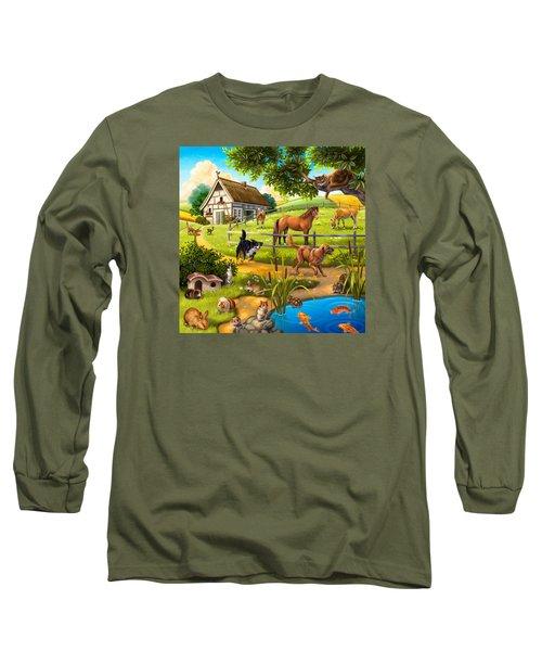 House Animals Long Sleeve T-Shirt