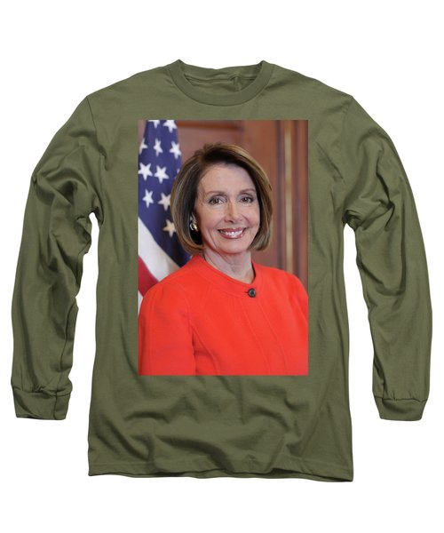 House Speaker Nancy Pelosi Of California  Long Sleeve T-Shirt