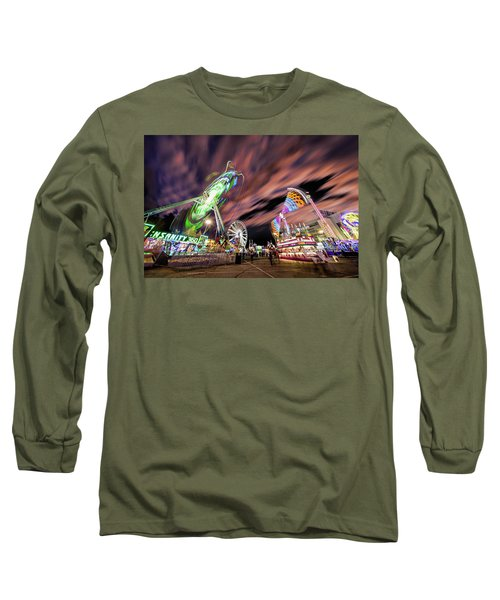 Houston Texas Live Stock Show And Rodeo #1 Long Sleeve T-Shirt by Micah Goff