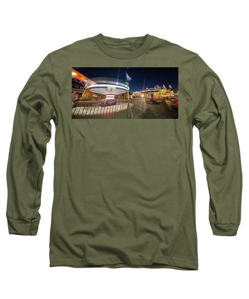 Houston Texas Live Stock Show And Rodeo #11 Long Sleeve T-Shirt by Micah Goff
