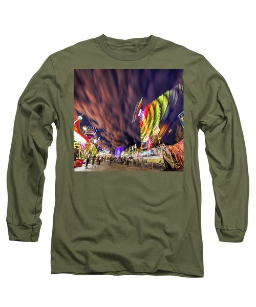 Houston Texas Live Stock Show And Rodeo #3 Long Sleeve T-Shirt by Micah Goff