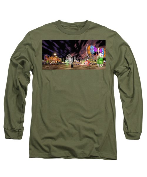 Houston Texas Live Stock Show And Rodeo #4 Long Sleeve T-Shirt by Micah Goff