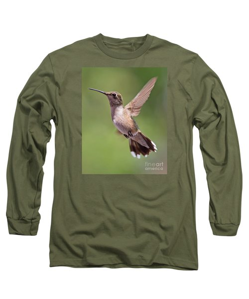 Hovering Hummer 1 Long Sleeve T-Shirt